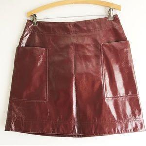 Anthropologie Maeve Mini Skirt
